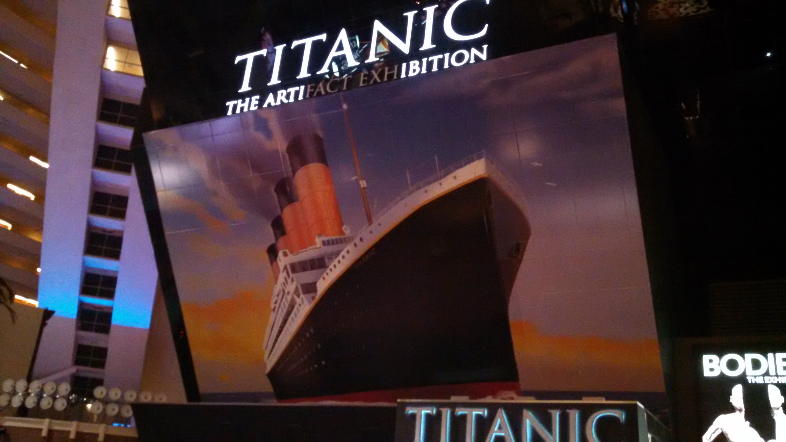 Titanic: The Artifact Exhibition - Luxor