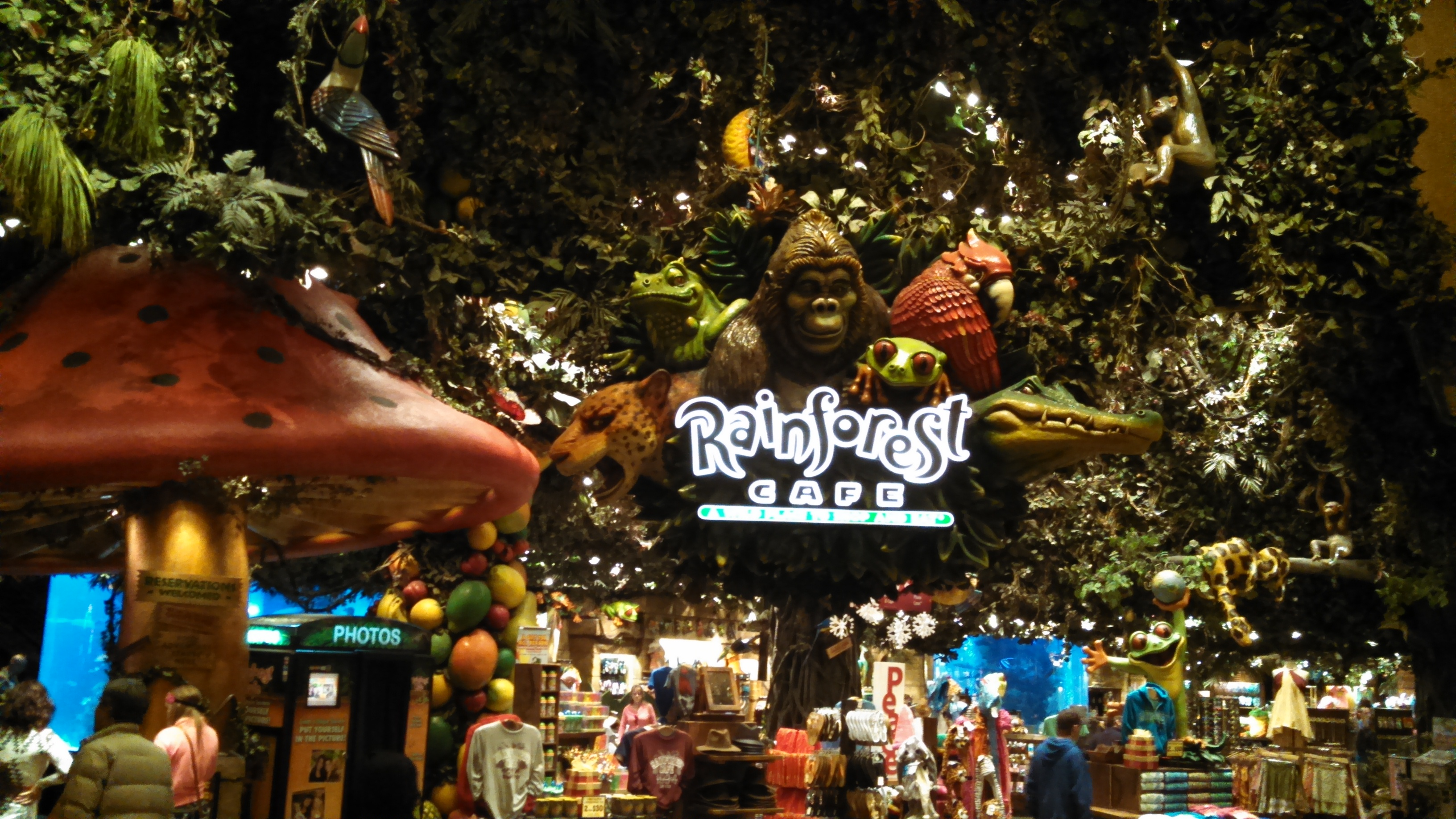 Rainforest Cafe MGM Grand
