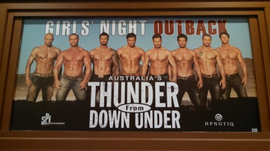 Thunder From Down Under - Excalibur