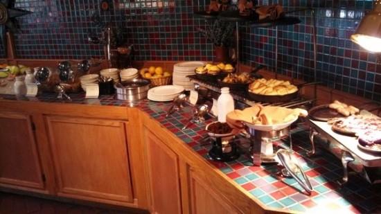Omni Tucson National Resort. Breakfast Buffet
