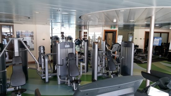 Disney Cruise Gym