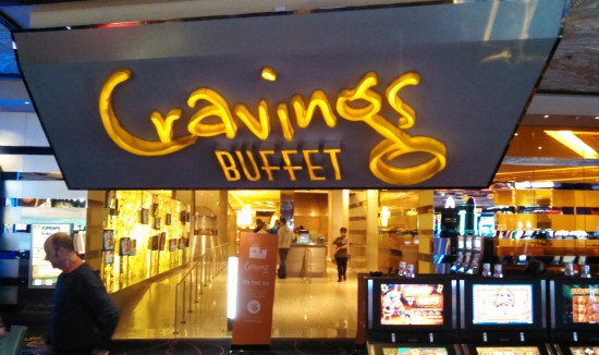 Cravings Buffet at the Mirage Casino in Las Vegas