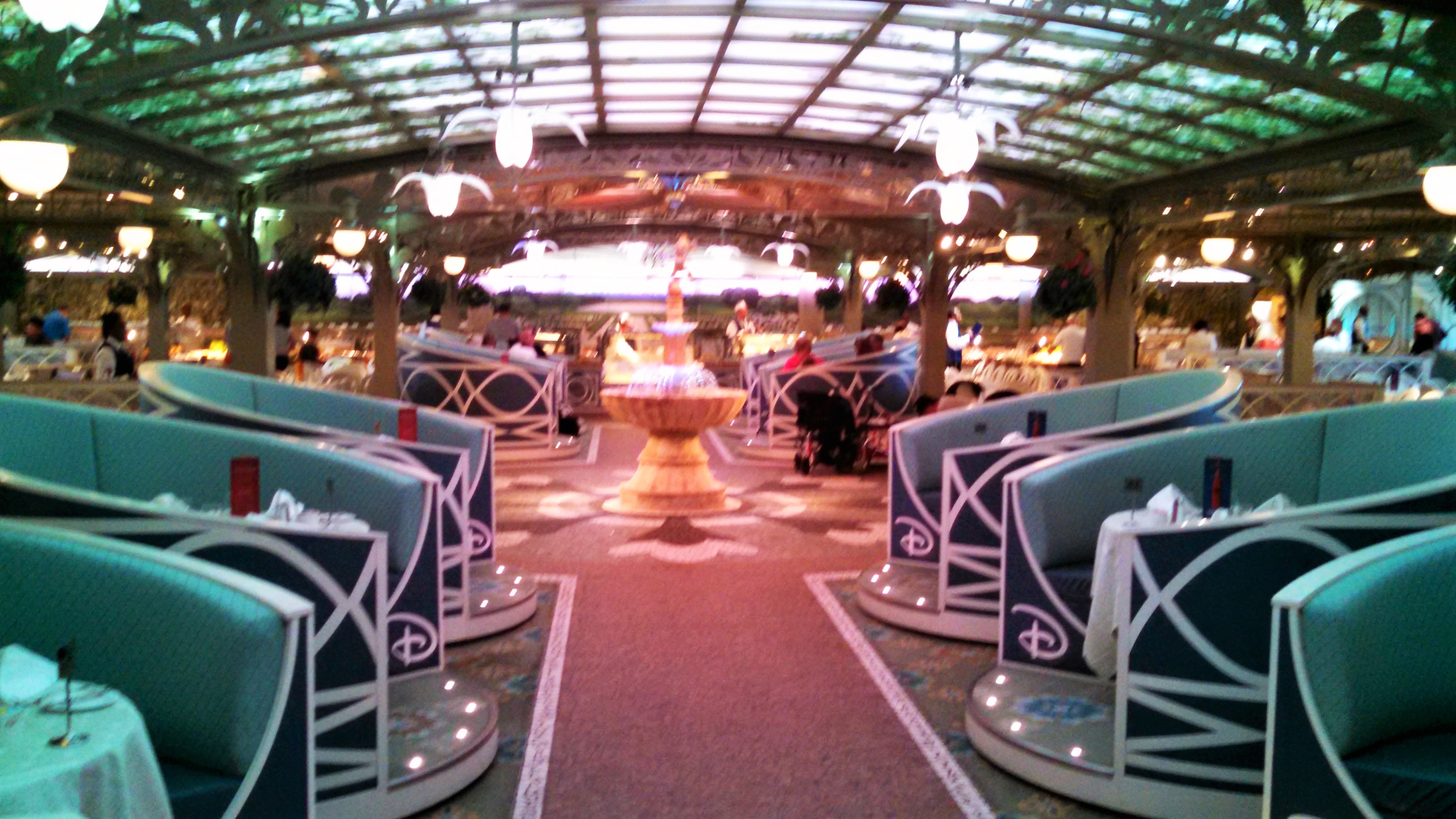 Disney Dream Cruise Dining Rooms
