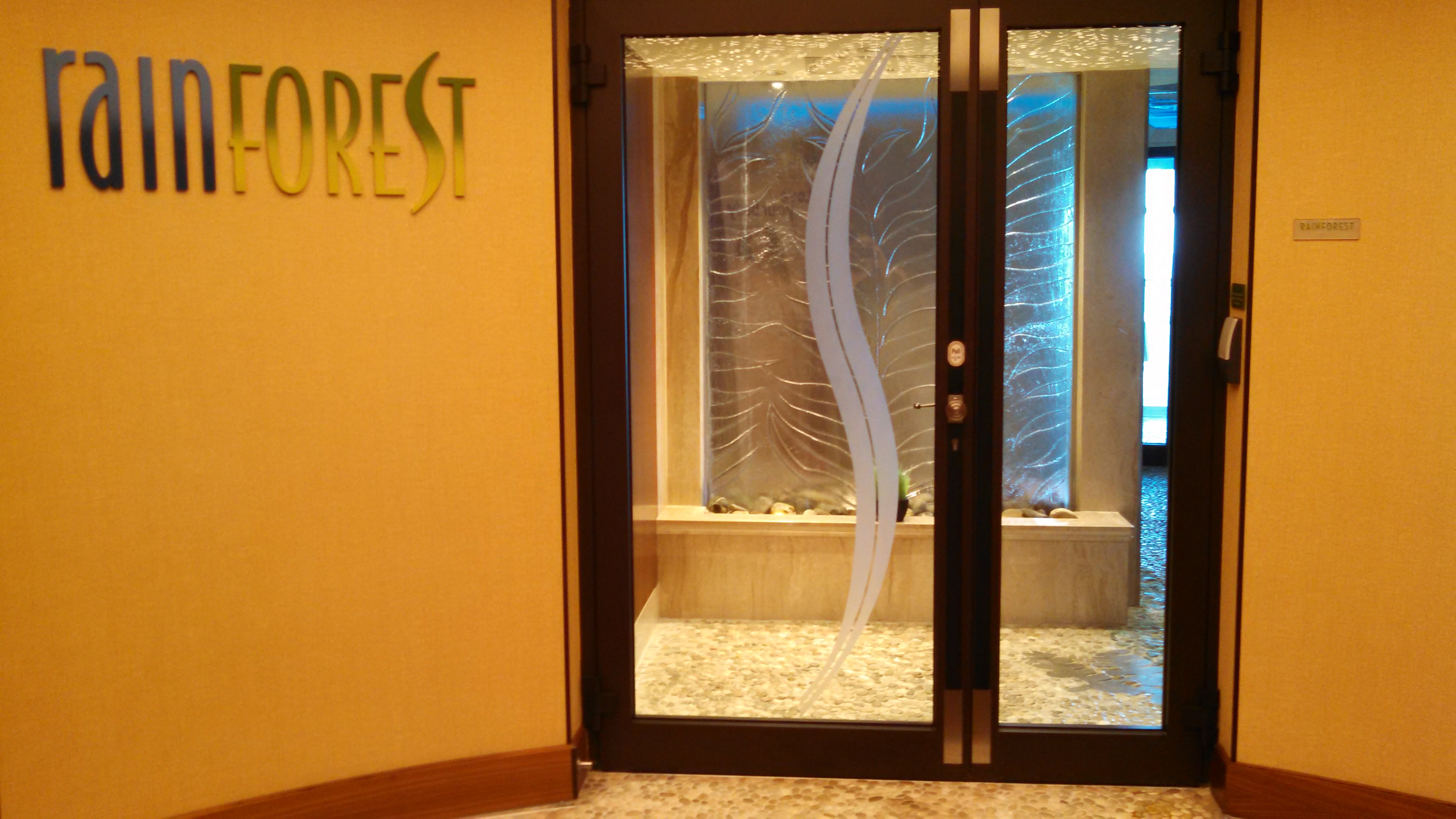 Disney Dream Cruise Rainforest Spa