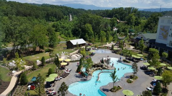 Dollywood's Dream More Resort. Pool