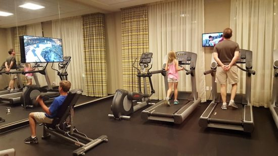 Dollywood's Dream More Resort. Gym