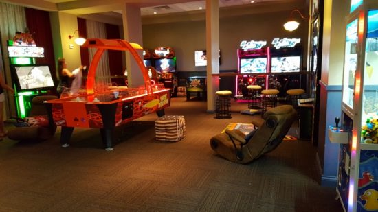 Dollywood's Dream More Resort. Game Room