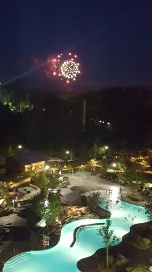 Dollywood's Dream More Resort. Fireworks