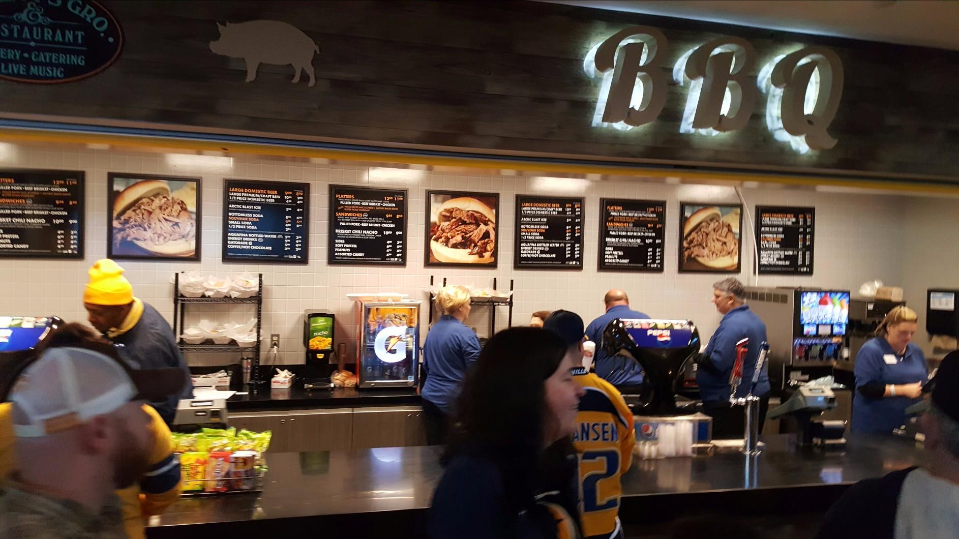 Bridgestone Arena Restaurants Best