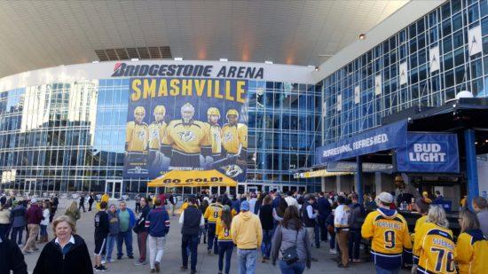 Bridgestone Arena in Nashville